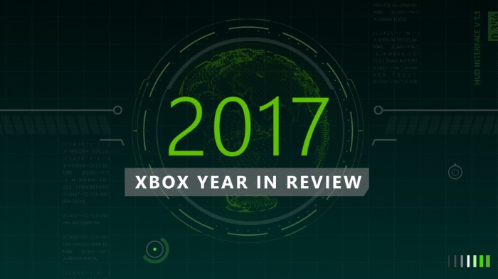 Xbox Year in Review 2017