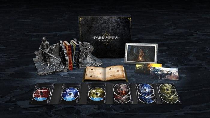 Dark Souls Trilogy box PS4