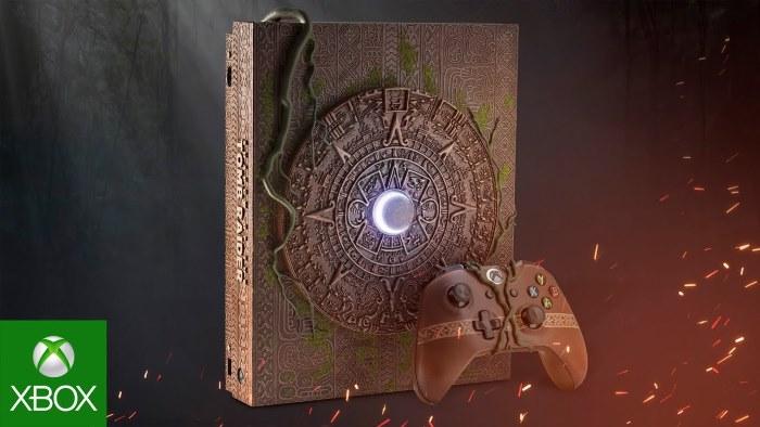 Microsoft Xbox One X Shadow of the Tomb Raider