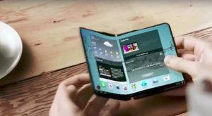 Samsung Smartphone Display Pieghevole