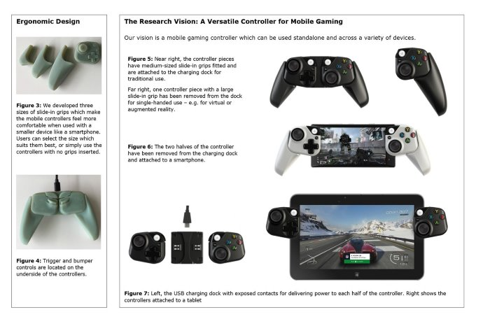 Xbox controller prototipi mobile Microsoft Project xCloud
