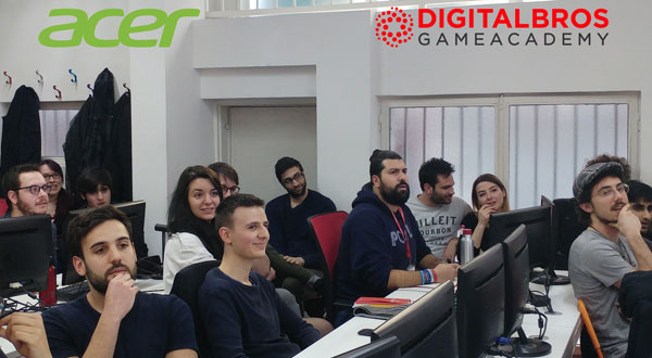 Acer Humanity Digital Bros Game Academy DBGA
