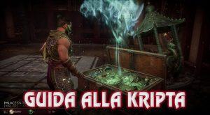 mortal kombat 11 guida kripta