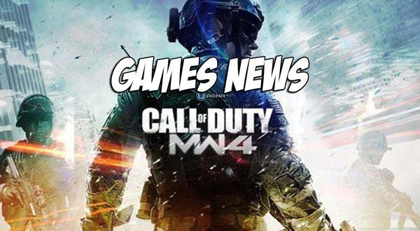 Games News Call Of Duty Modern Warfare 4 MW4 Uagna.it