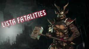 lista fatalities mortal kombat 11