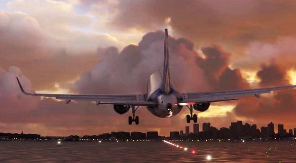 trailer flight simulator