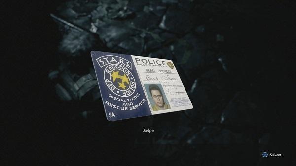 resident evil 3 badge