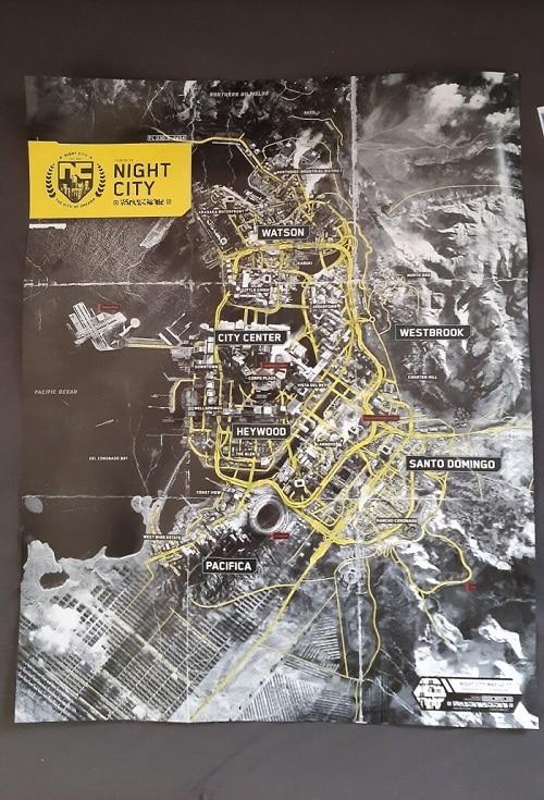 mappa cyberpunk 2077