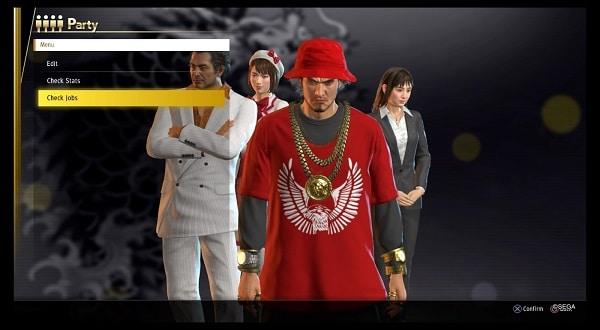 yakuza like a dragon mestieri