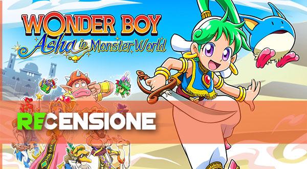 recensione asha in monster world